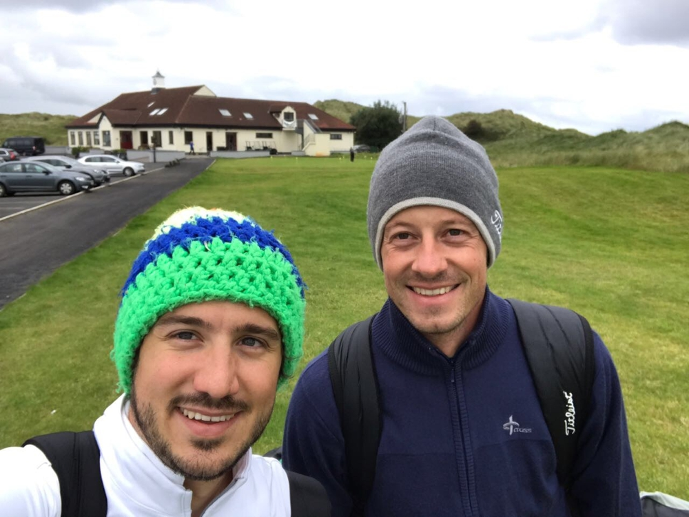 Enniscrone Golf Links, Irland, Foto:  Basti und Tim