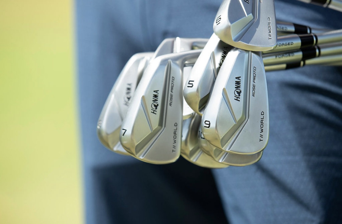 Honma launches ultimate irons played by Justin Rose